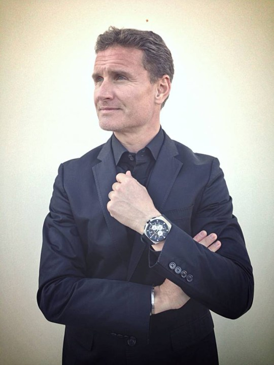 DavidCoulthard.jpg From: Stuart Morrison   TW Steel [mailto:stuartm@twsteel.com] To: Daniel Griffiths; Gavin Brown Subject: Re: David Coulthard I don't have an outstanding image of DC wearing the new watch yet as we're actually doing the photo-shoot with him in Monaco today - these images will then be used for the supporting promo / ad campaign etc.