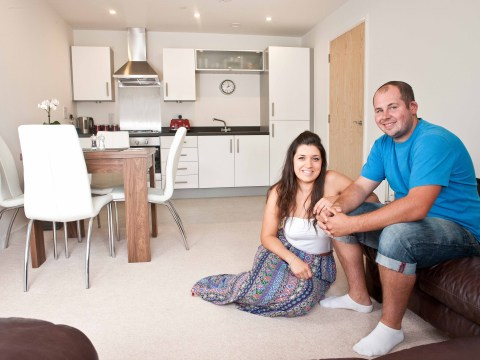 Living with mum and dad helped one couple on to the property ladder