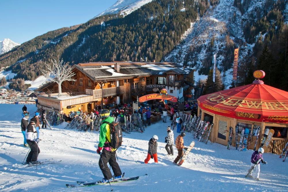St Anton in Austria has a new lift, hotel and ski valet service (Picture: Alamy)