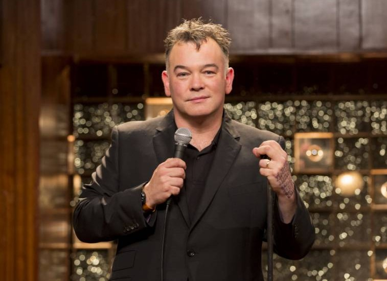Stewart Lee in his Comedy Vehicle show (Picture: Colin Hutton)