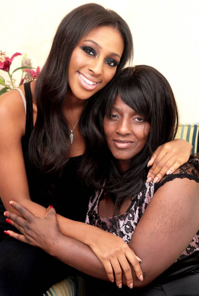 Alexandra Burke: Memories of my mum collapsing will stay with me forever