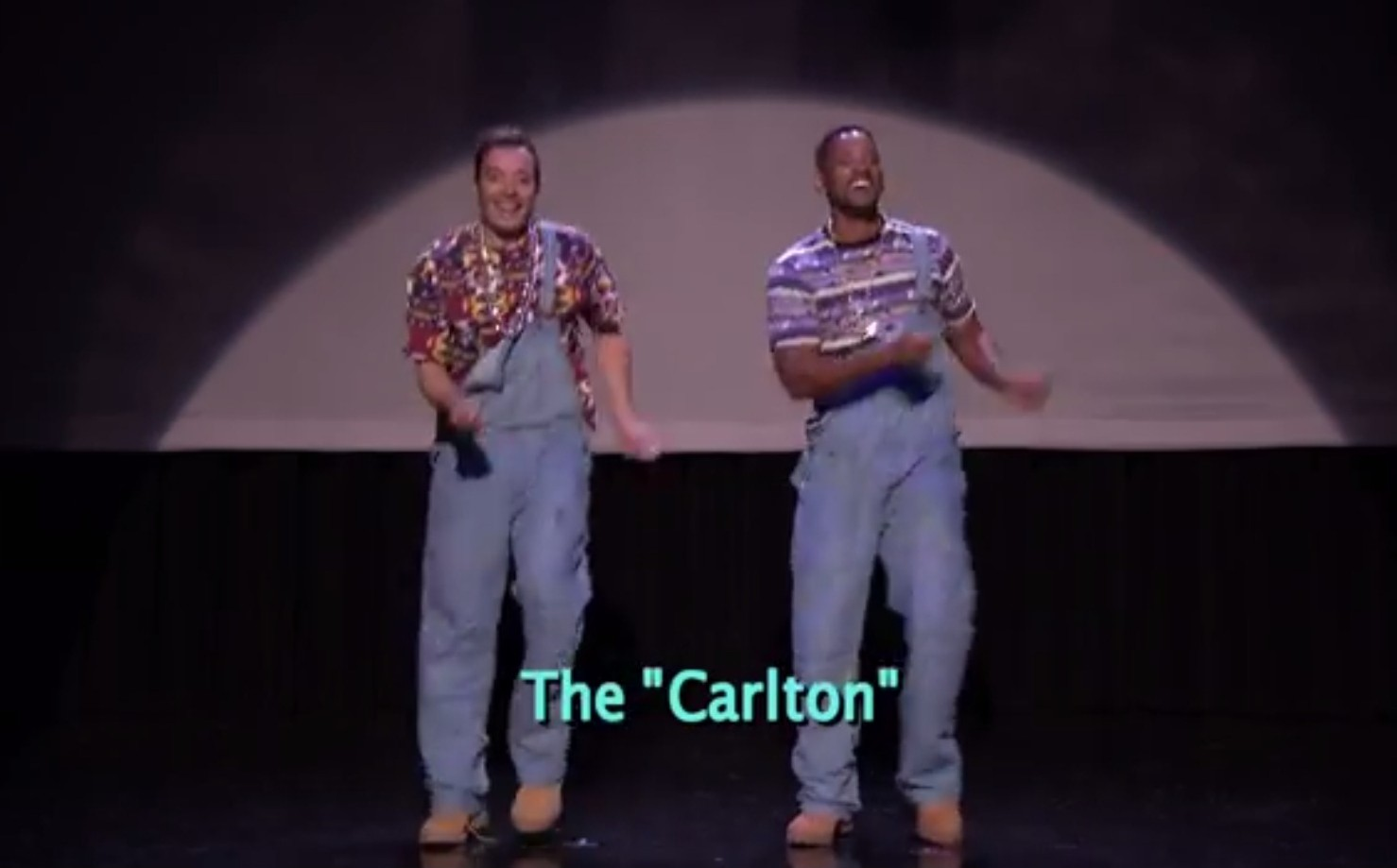 Will Smith does the 'Carlton' but gives up on twerking in hip hop dance video
