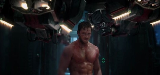 Chris Pratt takes on the role of Peter Quill aka Star-Lord (Picture: Marvel)