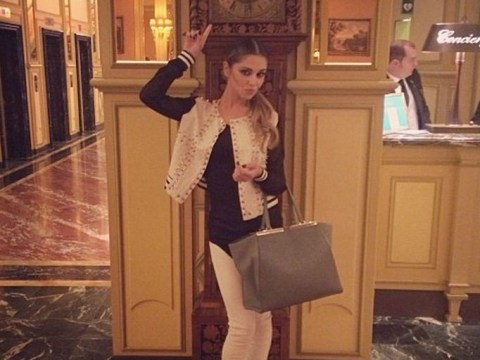 Cheryl Cole leads the celebrity fashion pack sharing Instagram selfies during Milan Fashion Week