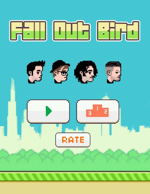 Missing Flappy Bird? Try Fall Out Boy's new app Fall Out Bird