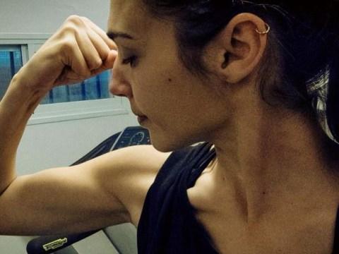 Gal Gadot gets into shape for Wonder Woman role in Batman v Superman