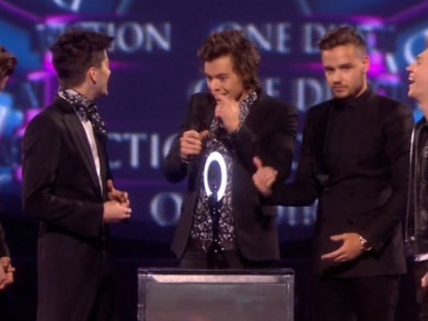 Harry Styles nearly misses collecting Brit Award after going for a wee