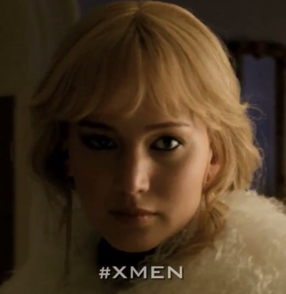 Jennifer Lawrence is back as Raven aka Mystique (Picture: Twentieth Century Fox)