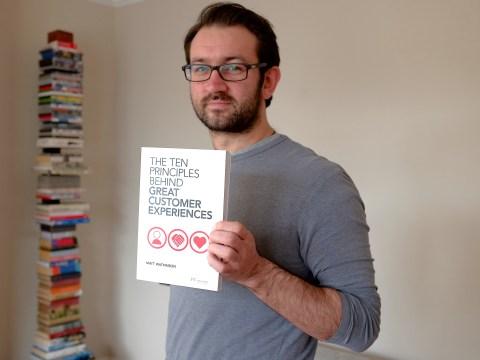 The customer is king says winning author Matt Watkinson