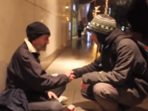 Facebook user helps homeless man for his NekNomination