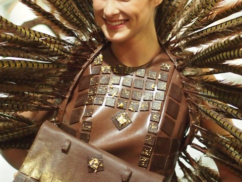 Gallery: Salon Du Chocolat fashion show,  Brussels 2014