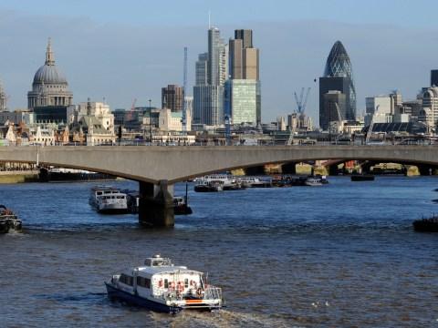 Waterloo Bridge closed after drive-by shooting
