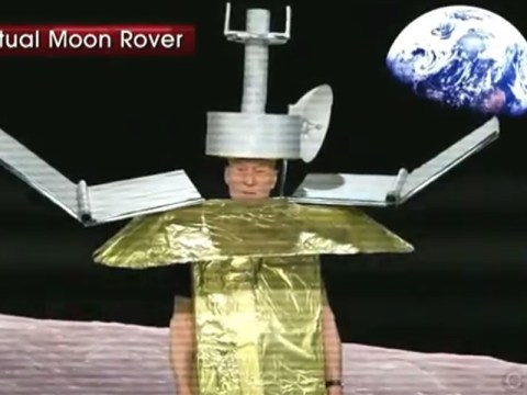 Here's what happened when Patrick Stewart dressed as a Moon Rover