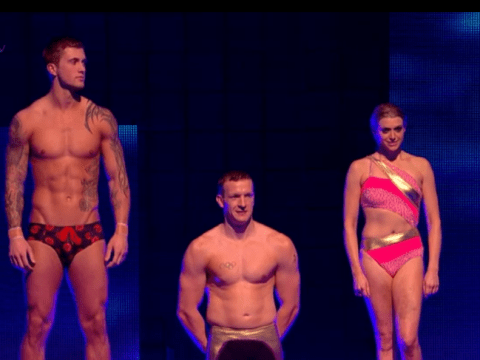 Splash! 2014: Richard Whitehead plus Dan Osborne (and his spangly trunks) through to the final