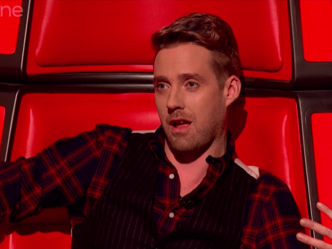 Ricky Wilson pokes fun at Gary Barlow on The Voice as X Factor USA is oficially scrapped