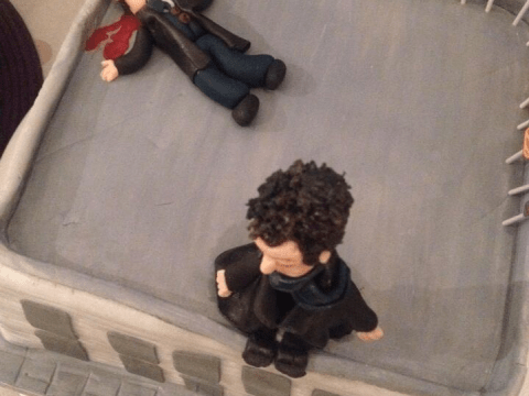 Confectionery, my dear Watson: Is this the greatest Sherlock-themed birthday cake ever?