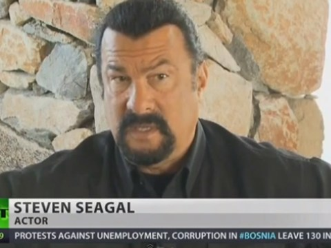 Steven Seagal is here to reassure us all about Sochi Winter Olympic security