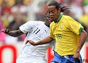Brazil v Ghana