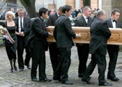 hunter funeral