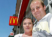 McDonald's couple