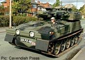 Stephen Ellison and tank