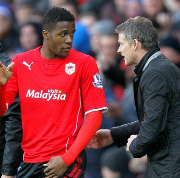 Wilfried Zaha can save us from drop, says Cardiff boss Ole Gunnar Solskjaer