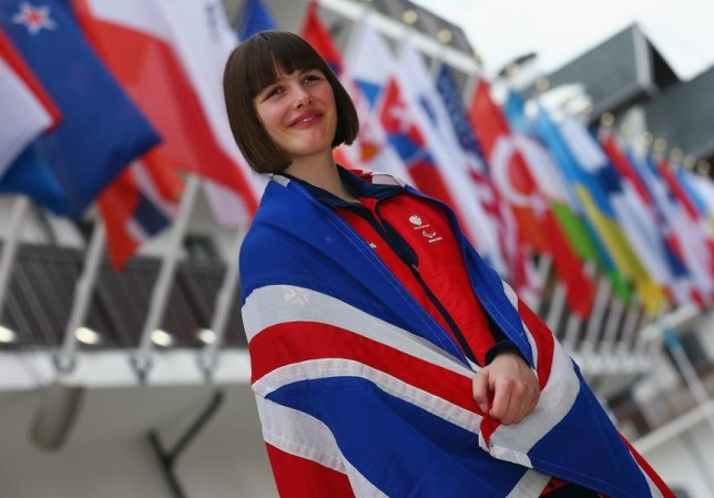 ParalympicsGB flag-bearer Millie Knight (Picture: Getty Images)