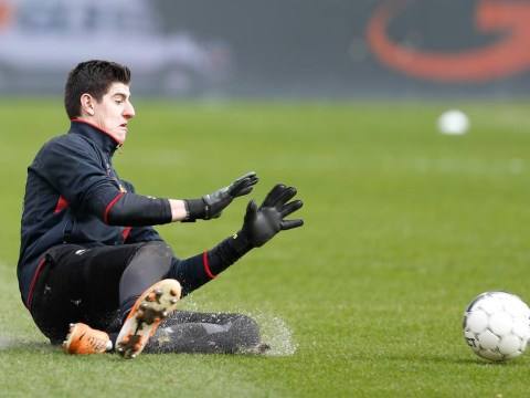 Thibaut Courtois says rumours Chelsea will sell him to Real Madrid are designed to unsettle Atletico