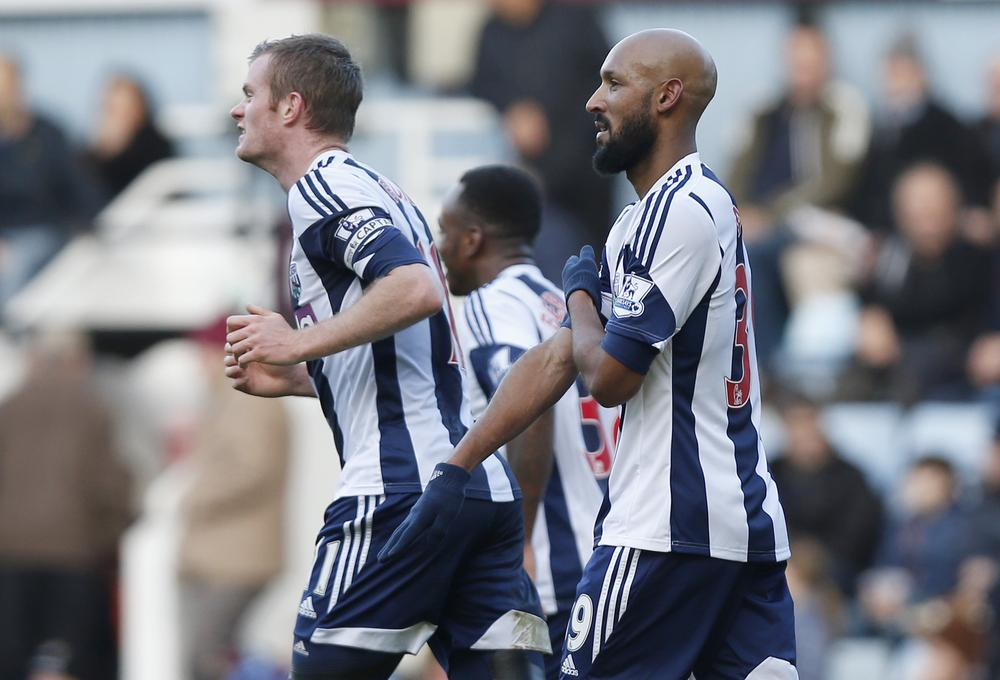 West Brom hit out at 'unprofessional' Nicolas Anelka after he quits club on Twitter