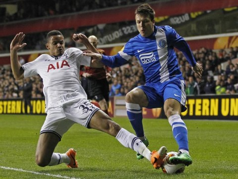 Tottenham boss Tim Sherwood plays down talk of signing Dnipro winger Yevhen Konoplyanka