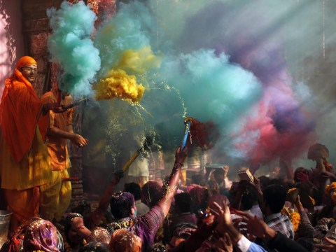 The 15 stages of celebrating Holi