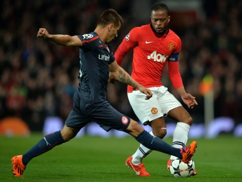 Manchester United star Patrice Evra in talks over Inter Milan transfer