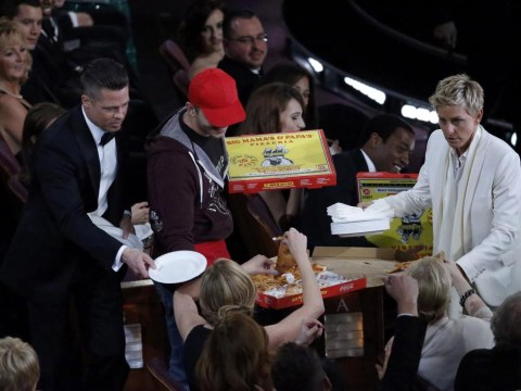 Coolest host yet? Ellen DeGeneres gets pizza guy to hand out slices during Oscars ceremony – but which A-listers chowed down and which declined?