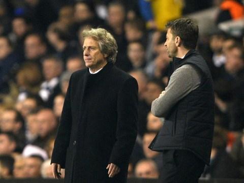 Tim Sherwood: It was good to see Jorge Jesus sweat despite Tottenham's Europa League defeat
