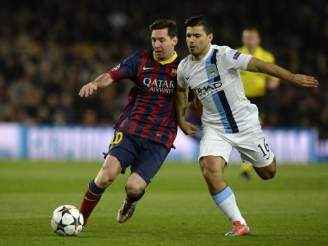 Manuel Pellegrini rubbishes Sergio Aguero to Barcelona rumours