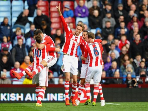Peter Crouch hails improving Stoke after victory over Aston Villa