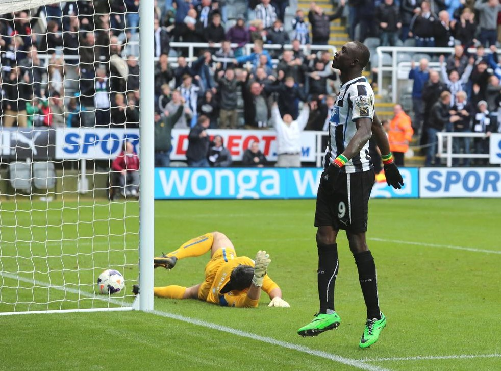 Rookie punter has Newcastle's Papiss Cisse's late winner to thank for landing £87,000 jackpot