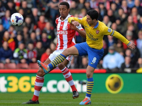Arsenal softies can't take being kicked, says Stoke's Steven Nzonzi