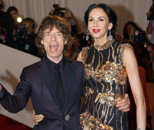 Mick Jagger has been left devastated after his girlfriend L'Wren Scott died (Picture: Reuters)