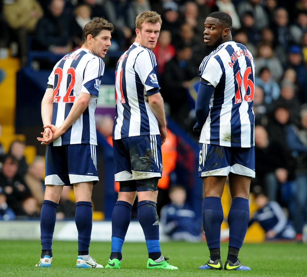 'Sinking' West Brom pay for lack of cutting edge against Manchester United