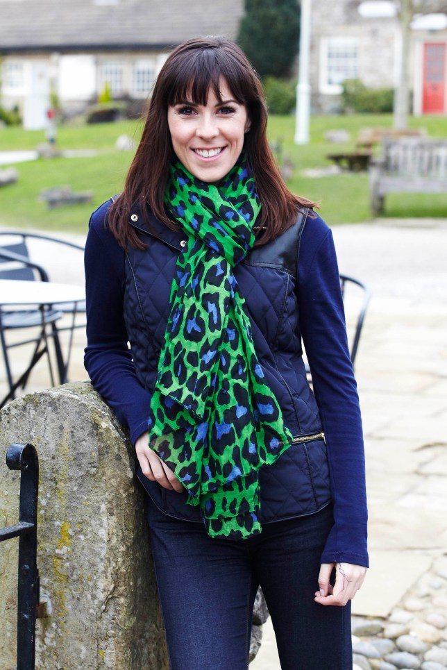 Verity Rushworth is back as Donna Winsdor. Will she find love again in the Dales? (Picture: ITV)