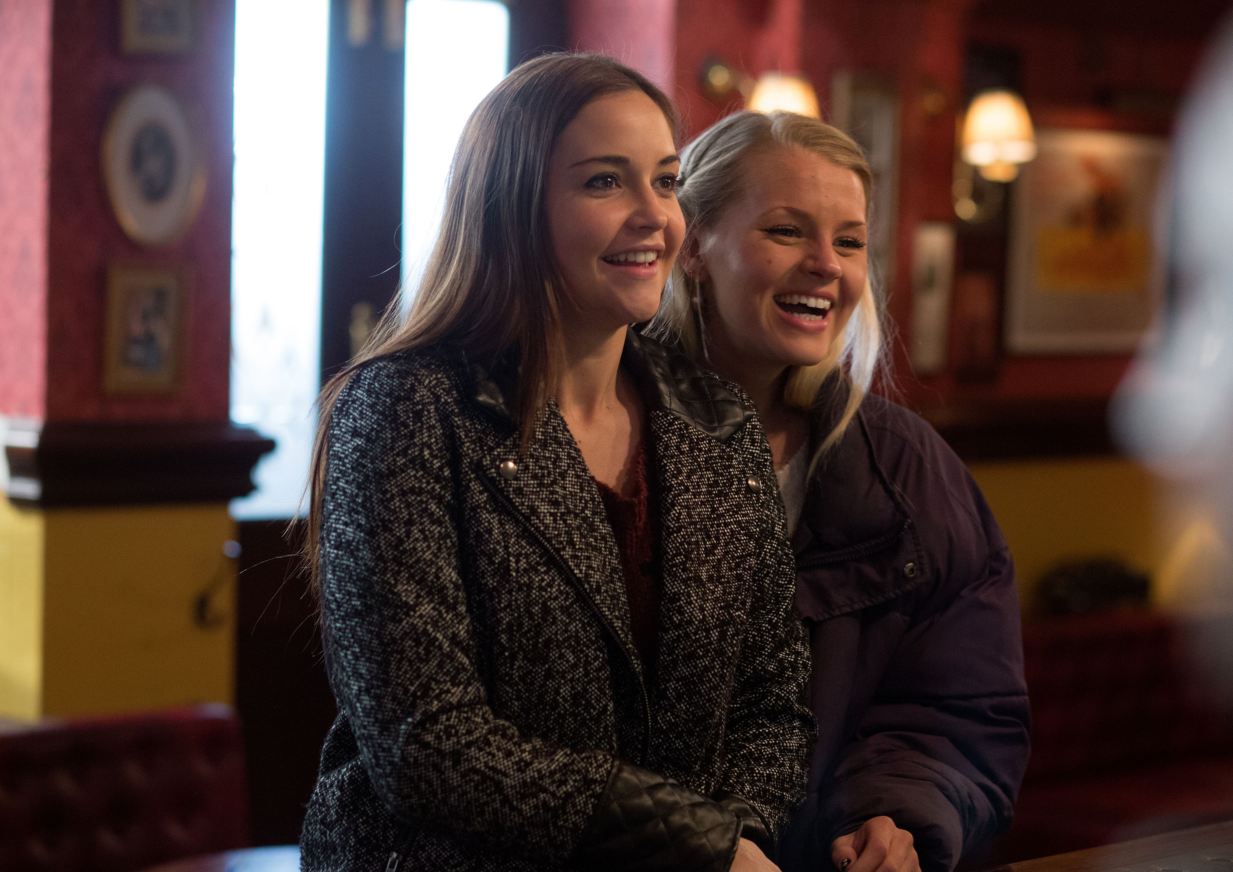 The beginning of the end: Doomed Lucy Beale goes into business with Lauren Branning