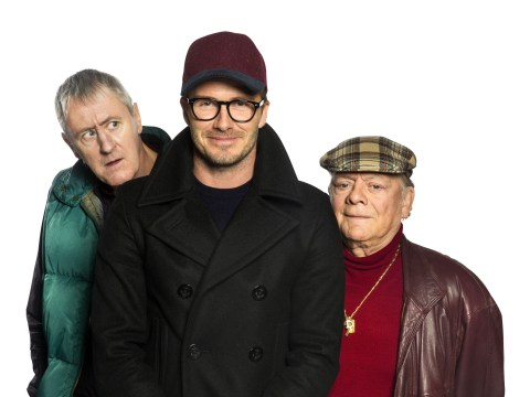 David Beckham on Sports Relief Only Fools and Horses appearance: 'I can die a happy man'