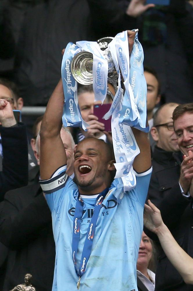 Manchester City's quest for silverware doesn't end here, insists captain Vincent Kompany