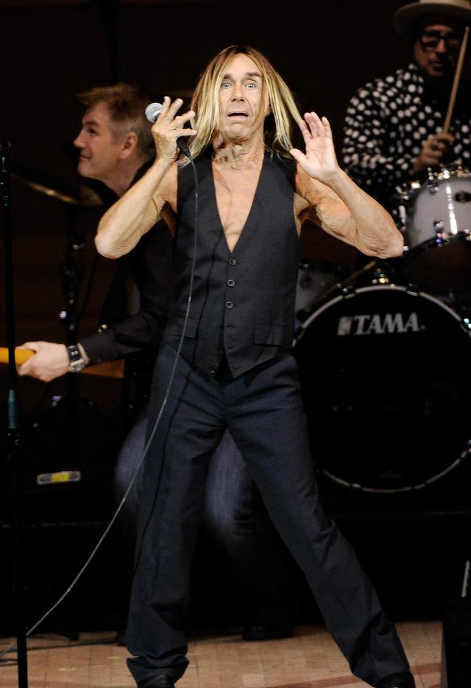 Just so you know, Iggy Pop says: 'I'd rather be eaten by a shark than die in an old people's home'