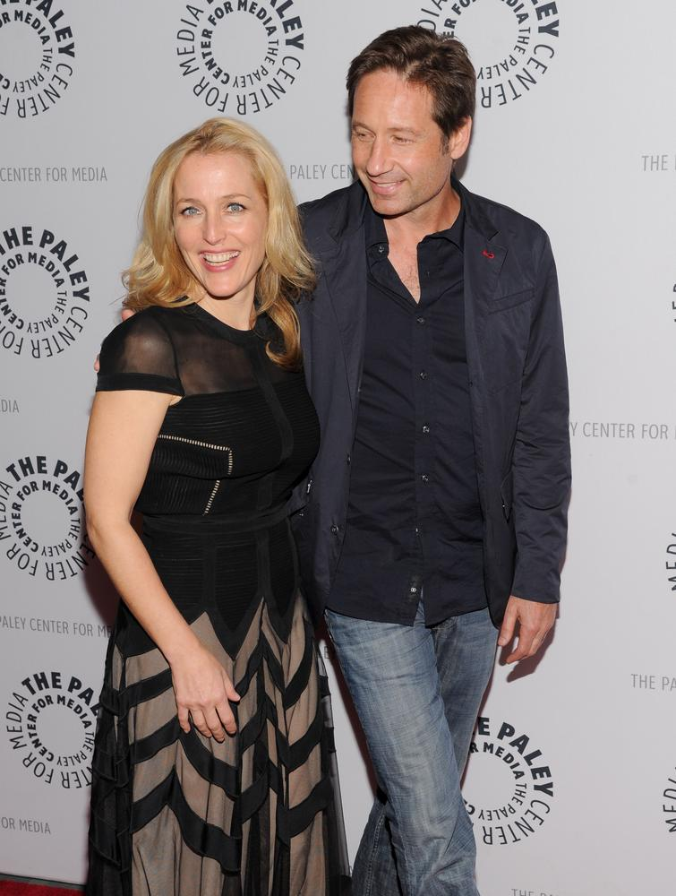 Did Mulder and Scully ever get it on in real life? Gillian Anderson reveals all…