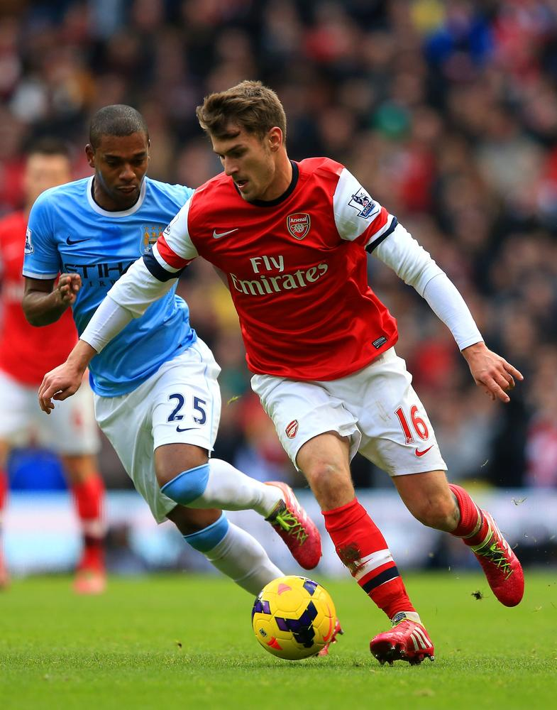 Aaron Ramsey aims to return for the Tottenham derby to help save Arsenal's season
