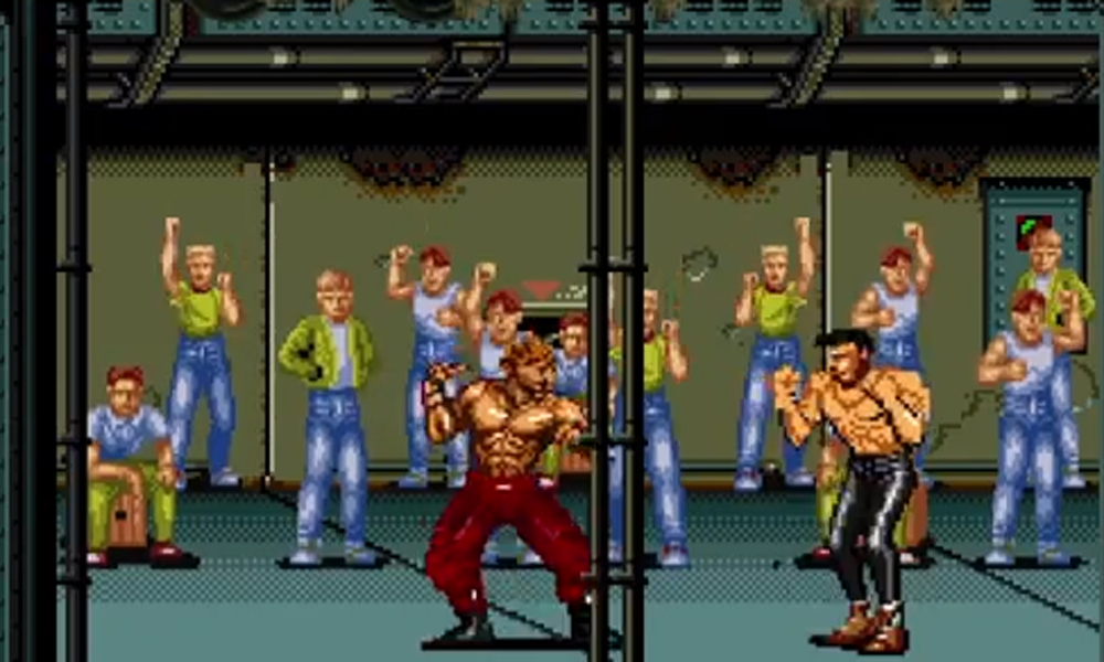 Fight Club remade in 8-bit format. No reason really, but it looks good