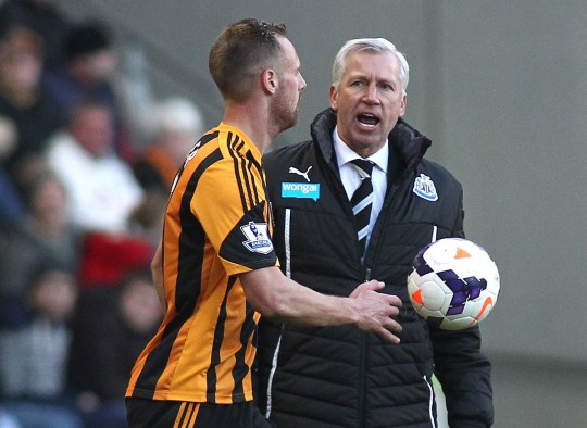 Hull City v Newcastle United - Barclays Premier League