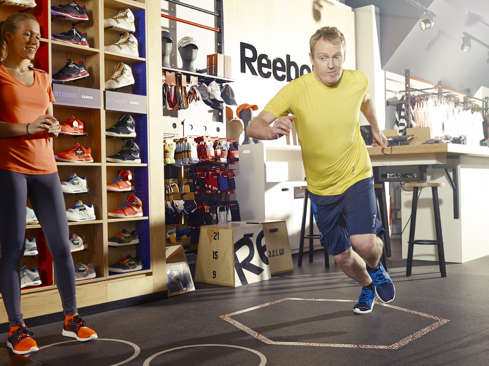 Reebok Fit Club, week one: Getting started on a six-pack diet plan